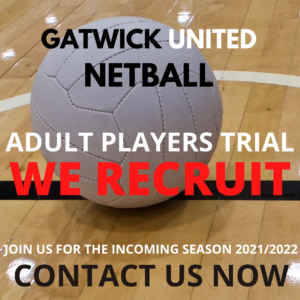 adult netball player trial
